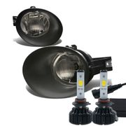 60W LED Kit + 02-08 Dodge RAM OE-Style Fog Lights - Smoked