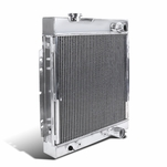 64-66 Ford Mustang Shelby V8 3-Row Manual Transmission Aluminum Cooling Radiator