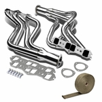 65-74 Oldsmobile 442 / CutlaSS / Delta 88 Stainless Racing Manifold Header Exhaust + Heat Wrap