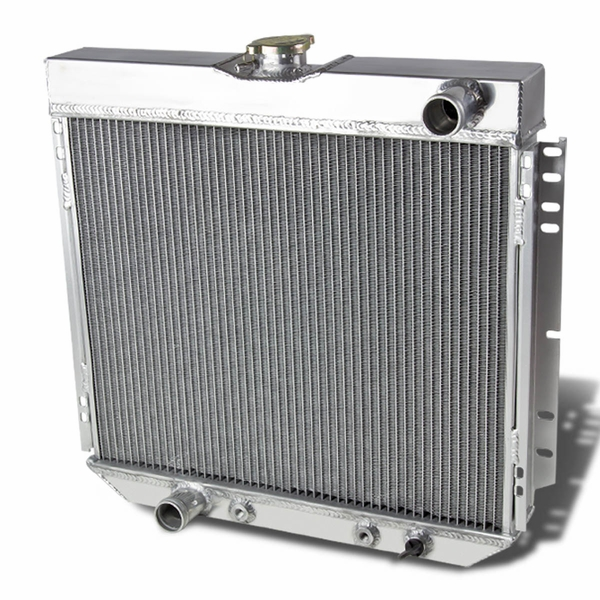 69-70 Ford Mustang 3-Row Full Aluminum Racing Radiator V8