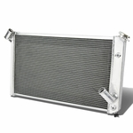 73-76 Chevy Corvette V8 5.7 7.4L 3-Row Tri-Core Aluminum Racing Cooling Radiator