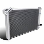 73-76 Chevy Corvette V8 Replacement Aluminum 3-Row Core Cooling Racing Radiator
