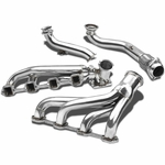 79-93 Ford Mustang 5.0L V8 Stainless T4 Racing Turbo Manifold + Cross Pipe