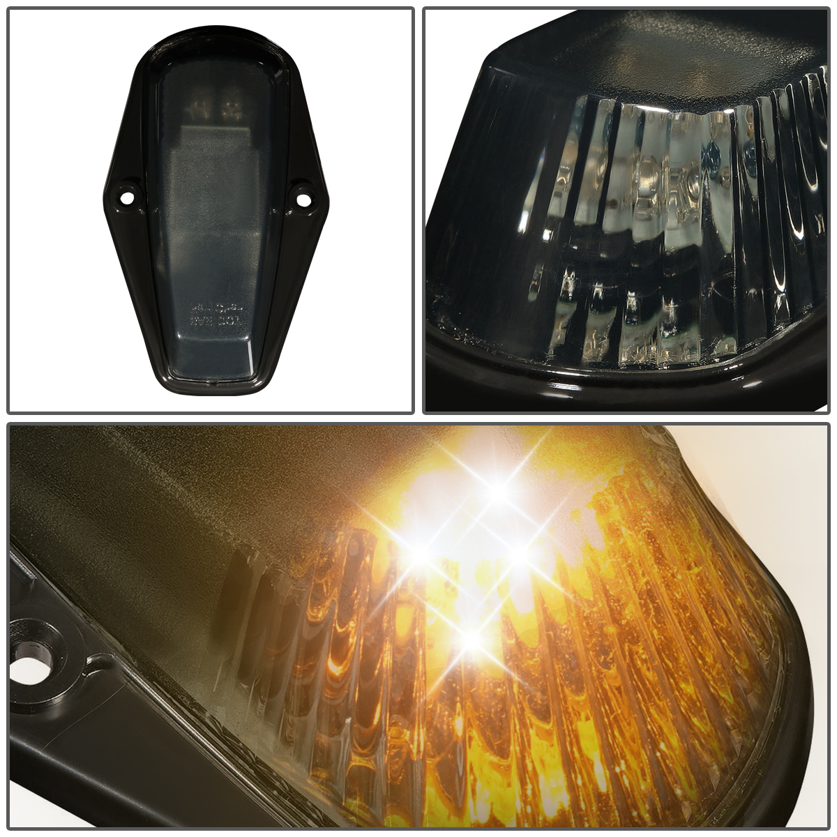 80 96 Ford F150 F450 5 X Led Cab Roof Top Lights Wiring