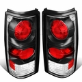 82-93 Chevy S10 / GMC S15 Pair of Black Housing Clear Lens Altezza Style Brake Tail Lights