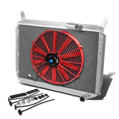 84-88 Nissan 300ZX VG30 TURBO 2-ROW/CORE RACING PERFORMANCE RADIATOR+1X FANS