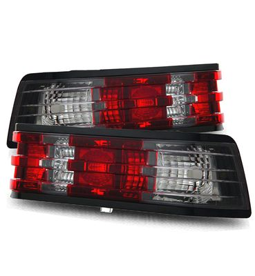 84-93 Mercedes Benz W201 190E / 190D Euro Style Tail Lights - Red / Clear