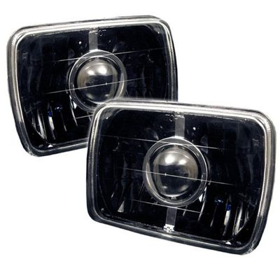 Spec-D 86-89 Acura Integra 7X6 Projector Headlights - Black