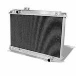 86-92 Toyota Supra Mark Iii 1Jz 7M Ge Gte Mt 3-Row Full Aluminum Racing Radiator