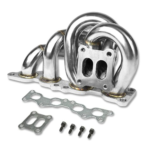 STAINLESS CT25 TURBO//TURBOCHARGER MANIFOLD EXHAUST 86-93 CELICA 91-95 MR2 3SGTE