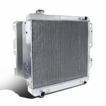 87-06 Jeep Wrangler TJ/YJ 2.4L 4.2L 3 Row Core Aluminum Cooling Racing Radiator