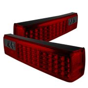 1987-1993 Ford Mustang Performance LED Tail Lights - Red