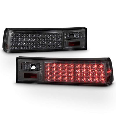 1987-1993 Ford Mustang Performance LED Tail Lights - Smoked