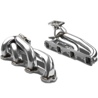 87-94 Ford Mustang 5.0L V8 OHV Stainless Steel Turbo Manifold Exhaust