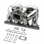 DNA 88-00 Honda / Acura D-Series T3 T4 D15 D16 Stainless Turbo Manifold Exhaust