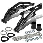 88-97 Chevy/GMC C/K Serise High-Performance 2-PC Stainless Steel Exhaust Header Kit (Black-Coated)