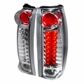 1988-1998 Chevy C10 / CK Pickup Truck Euro Style LED Tail Lights - Chrome