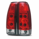 88-98 Chevy / GMC CK C10 Euro Altezza Tail Lights - Red / Clear