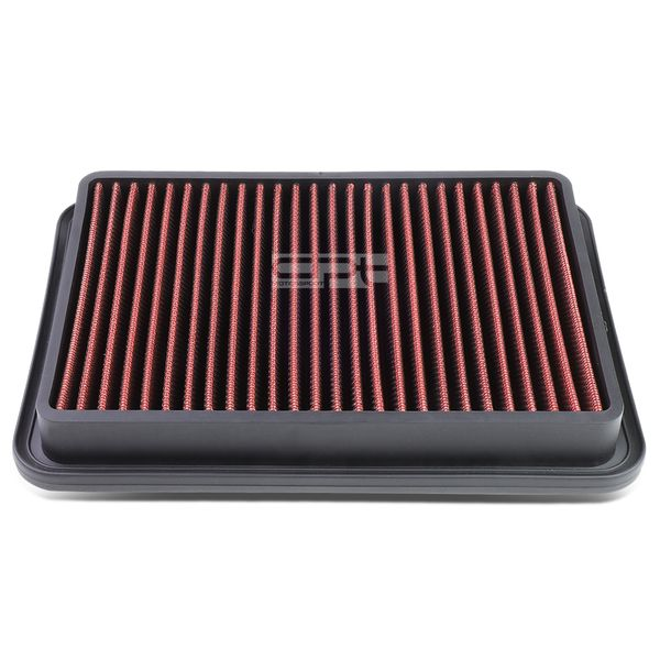 89-00 Toyota 4Runner / Tacoma 2.4L / 2.7L Reusable & Washable Replacement High Flow Drop-in Air Filter (Red) - N120 N130