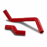 89-94 Nissan 240SX S13 3-Ply Silicone Radiator Coolant Hose (Red) - 1st Gen SR20 Silvia