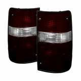 SPYDER ALT YD TP89 C Pair Chrome Euro Style Tail Lights for 89-95 Toyota Pickup