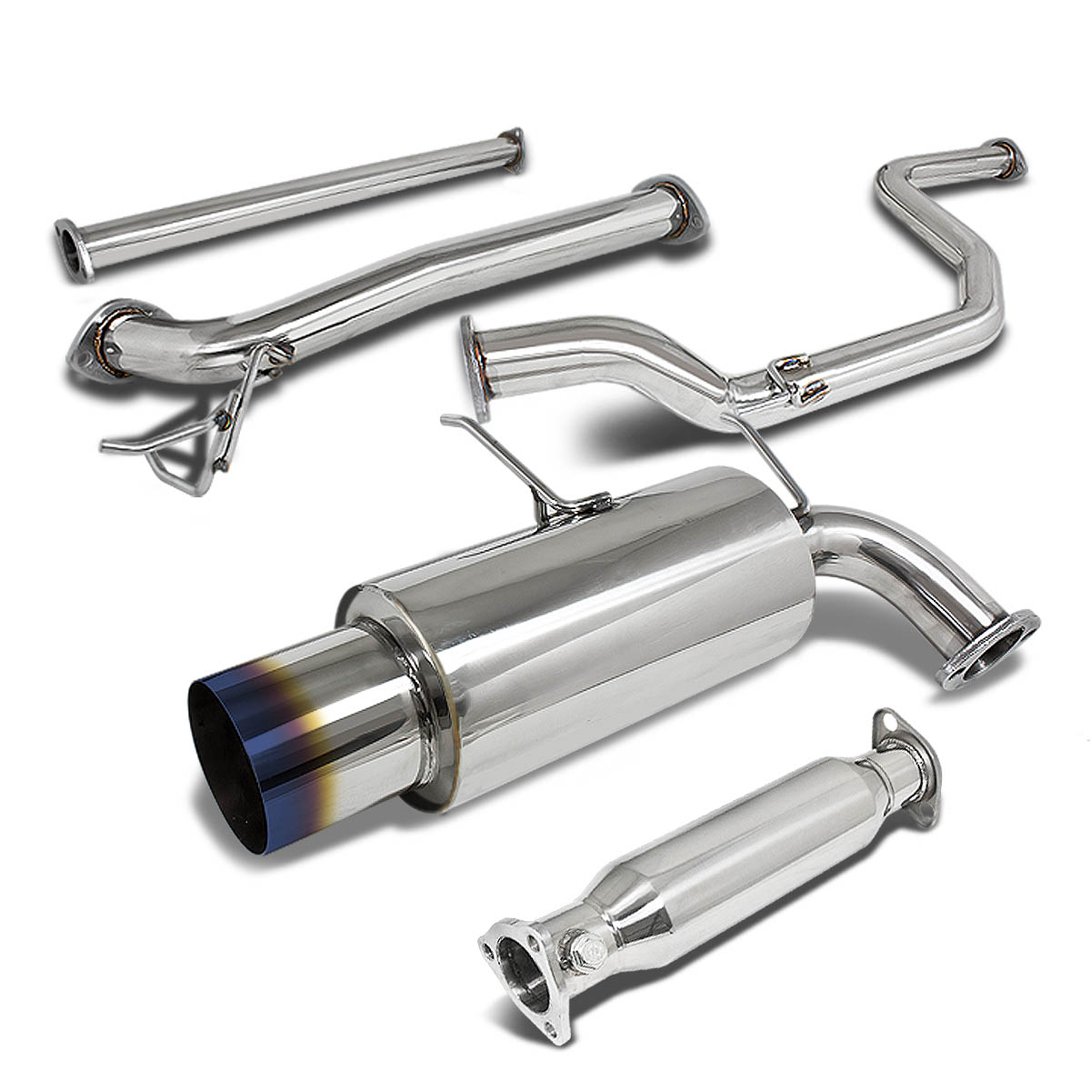 90-93 Acura Integra Racing Catback Exhaust System 4.5