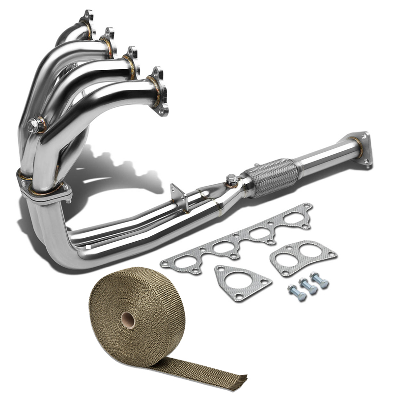 STAINLESS RACING MANIFOLD HEADER//EXHAUST for 90-93 HONDA ACCORD 2.2 F22A 2//4-DR