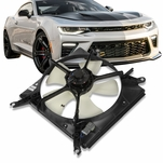 90-93 Honda Accord OE Style Replacement Radiator Cooling Fan Kit HO3115105