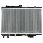 90-94 Mazda 323 Prot G 1.6L 1.8L Auto At Aluminum Core Replacement Radiator Toc