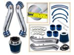 90-96 Nissan 300ZX 3.0L V6 N/A (with Filter) Short Ram Air Intake Kit - Blue