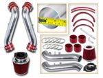 90-96 Nissan 300ZX 3.0L V6 N/A (with Filter) Short Ram Air Intake Kit - Red