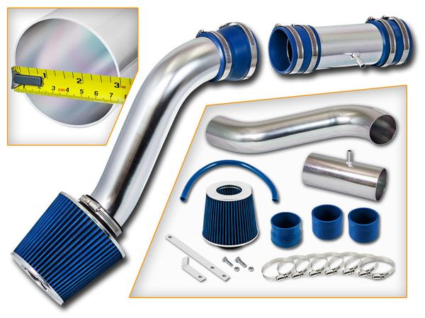 91-93 Ford Thunderbird 5.0L V8 Cold Air Intake - Blue