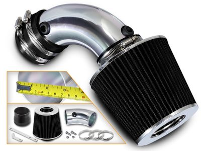 91-93 Oldsmobile Cutlass Supreme 3.4L V6 Short Ram Air Intake Kit - Black