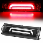91-96 Chevy Corvette 3D LED Bar Third 3rd Tail Brake Light/Lamp - Black