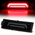 91-96 Chevy Corvette 3D LED Bar Third 3rd Tail Brake Light/Lamp - Black Smoked