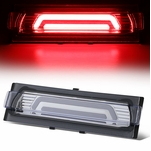 91-96 Chevy Corvette 3D LED Bar Third 3rd Tail Brake Light/Lamp - Chrome Clear