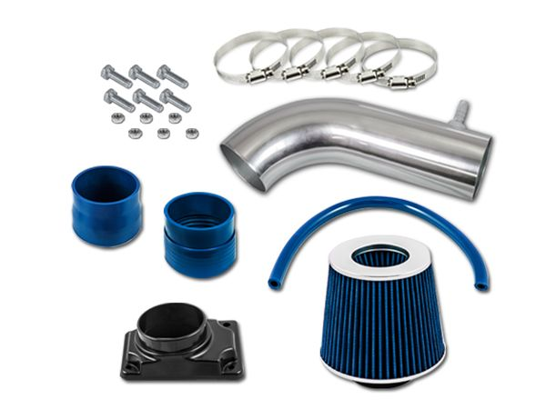 92-03 Mitsubishi Montero / Sport 3.0L V6 Short Ram Air Intake Kit - Blue