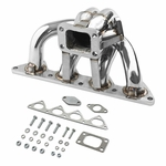 92-96 Honda Prelude H23A1 T3 Stainless Racing Turbo Manifold Exhaust