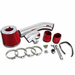 92-98 BMW E36 325i 328i L6 Cold Air Intake Induction Kit - Red