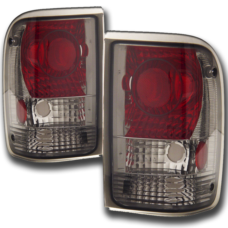 93 97 Ford Ranger Euro Altezza Tail Lights Smoked Click To Enlarge