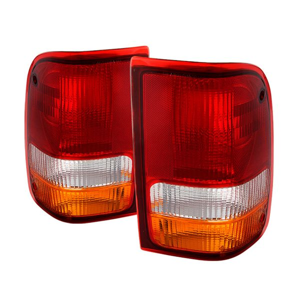 93-97 Ford Ranger OEM Style Replacement Tail Lights Pair