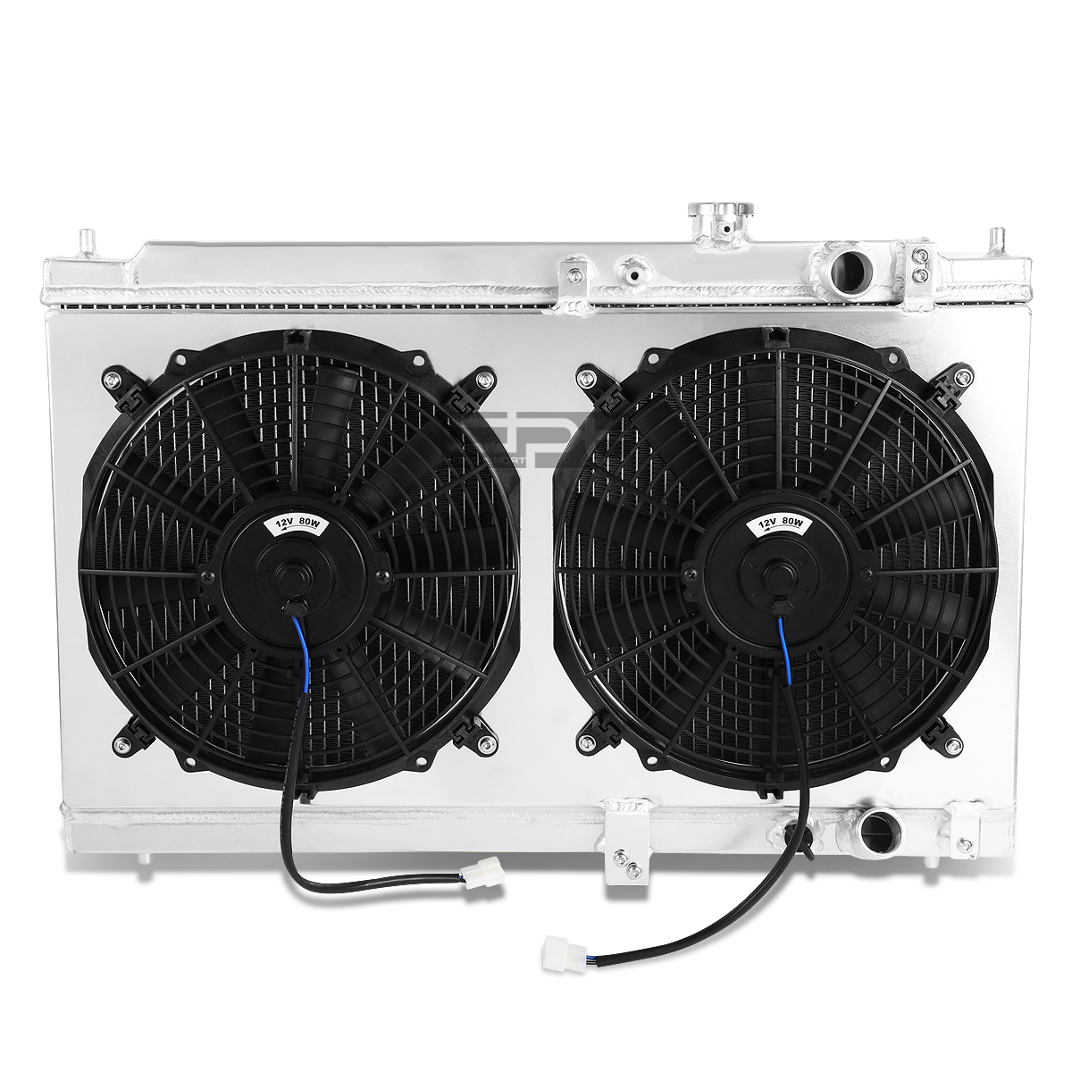DUAL CORE HIGH CAPACITY RACE 2-ROW COOLING RADIATOR FOR 94-01 ACURA INTEGRA MT