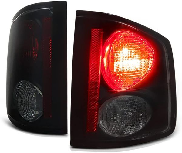 94-01 Chevy S10 Pickup Altezza Tail Lights - Black Smoked