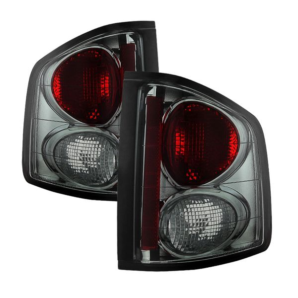 94-01 Chevy S10 Pickup Altezza Tail Lights - Smoked ALT-YD-CS1094-SM By Spyder