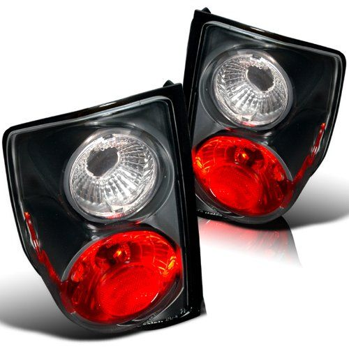 94-01 Chevy S10 Tail Lights - Black Also Fit GMC Sonoma