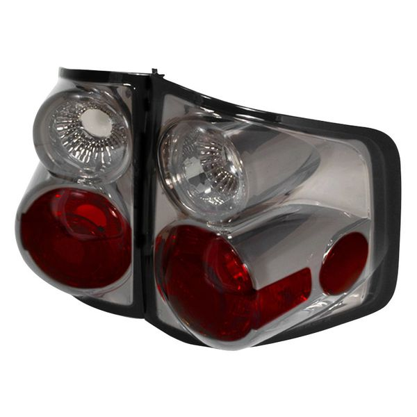 94-01 Chevy S10 Tail Lights - Smoke Also Fit GMC Sonoma