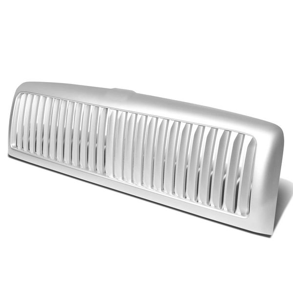 94-01 Dodge RAM 1500 2500 3500 Front Vertical ABS Plastic Grill Grill Guard - Silver