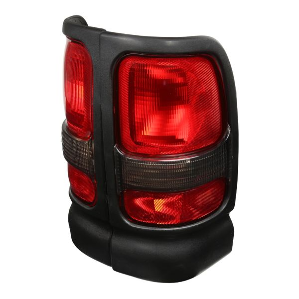 94-01 Dodge RAM Replace Tail Lights - Red Smoked