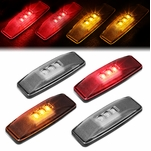 94-02 Dodge Ram 4Pcs LED Dually Fender Side Marker Light Replacement Clear
