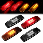 94-02 Dodge Ram 4Pcs LED Dually Fender Side Marker Light Replacement Smoked